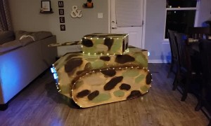 Trick or Treat with a Tank