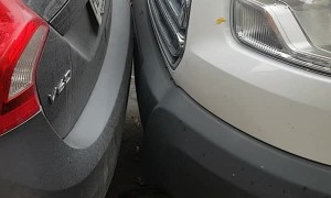 Parked Car Has Plenty of Space to Pull Out