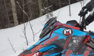 Broken Ball Joint? Just Drive Snowmobile Sideways