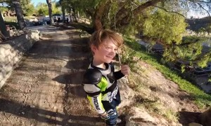 Son Rides Off Ledge, Shakes It Off
