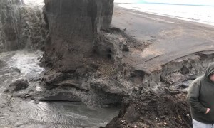 Massive Erosion in Alaska
