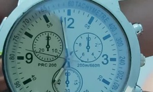Watch Ticks Counterclockwise