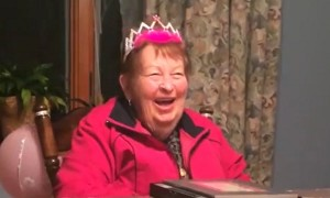 Family surprises grandma with Macy's parade gift after 30-year wait