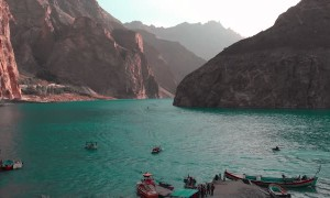 The Beauty of Attabad Lake