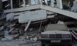 Albania earthquake aftermath with 6.4 magnitude