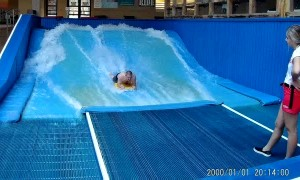 Family Flowrider Fail