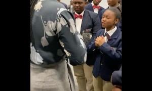Young lady inspired by 1st African American CEO of Chase