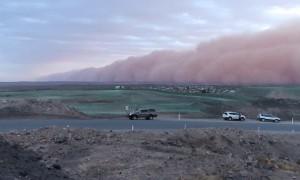 Outback Australian Dust Storm