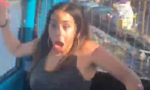 Amusement Park Ride Freak Out