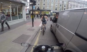 Cyclist Girl Gets Revenge On Catcalling Van Driver