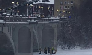 Rescue from the Rideau Street Bridge