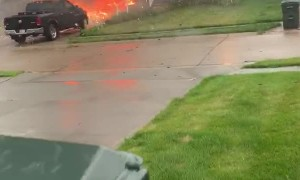 Fireworks Stored in Garage Set House on Fire