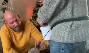 Dad Bamboozled by Humorous Game