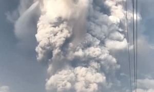 Taal Volcanic Eruption