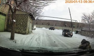 Jumping out of the Way of Sliding Car
