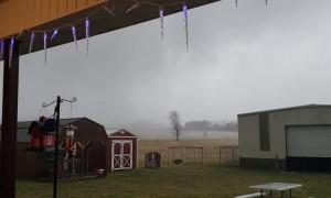 Tornado Comes in Close