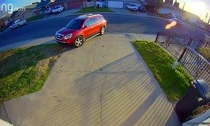 High-Speed Chase Zooms Past