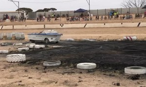 Boat Tears up the Burnout Pad