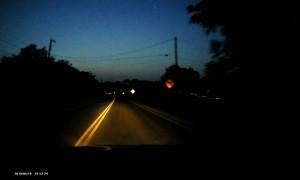 Driver Dodges Horse on Highway
