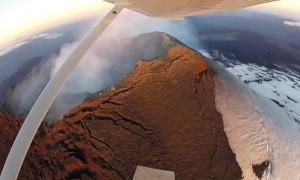 Soaring over Volcan Villarrica