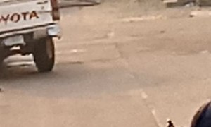 Fire Outbreak in Ibadan
