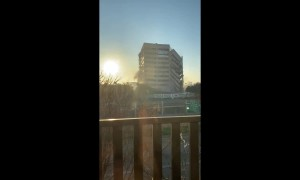 Awesome footage of building getting demolished in Dallas
