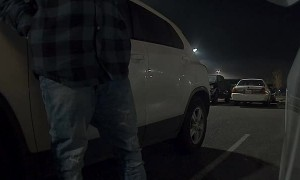 Sentry Camera Catches Someone Messing with Model 3