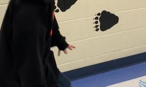 Cool Sensory Path at a School