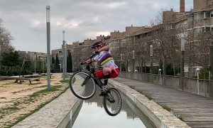 Insane Bike Skills in Barcelona