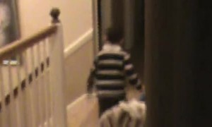 Boy Gets Upset at Dad over Halloween Candy