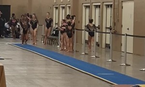 Gymnastics Coach Prevents an Injury