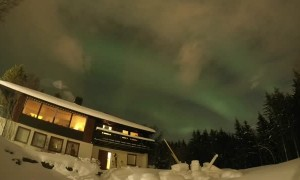 Timelapse of Northern Lights