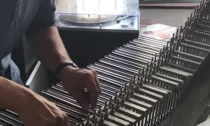Marc Chouarain Presents a Rare Instrument the Cristal Baschet