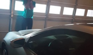 Daughter Screams After New Car Surprise