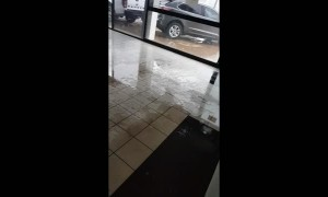 Car Dealership Flooded in Queensland
