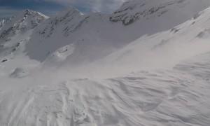 Climbers Ascend the Beautiful Fagaras Mountains in Romania