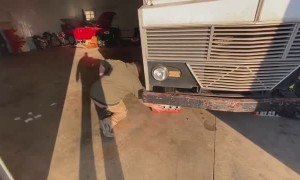 Winnebago Shop Burnout