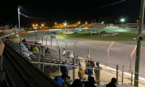 Pace Car Involved in Unexpected Accident