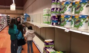 Panic of buying toilet paper hits upstate New York