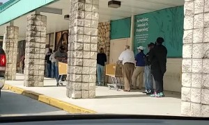 Long Line for the Liquor Store in Delaware
