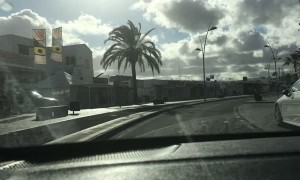 Deserted Streets in Lanzarote