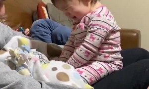 Daughter Dislikes Dad's Shaved Face