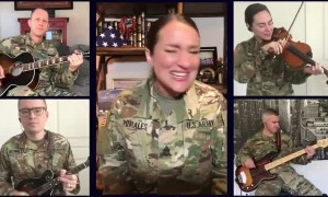 The Six String Soldiers of the US Army are here to help lift your spirits