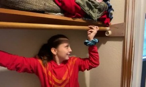 Closet Rail Repair Struggles