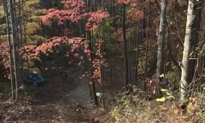 Woods Buggy Climb Fail