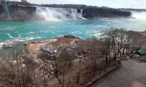Tour of an Empty Niagara Falls during Quarantine