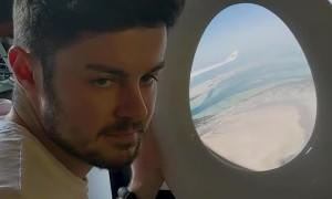 Man Dreams of Air Travel during Quarantine