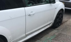Cars Keyed and Windows Shattered at Mall in Liverpool