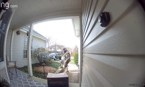 First Ring Doorbell Camera Victim is Myself