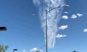Thunderbirds Thank Front Line Workers With Las Vegas Flyover